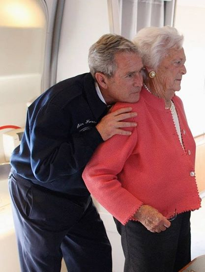 George W. Bush and Barbara