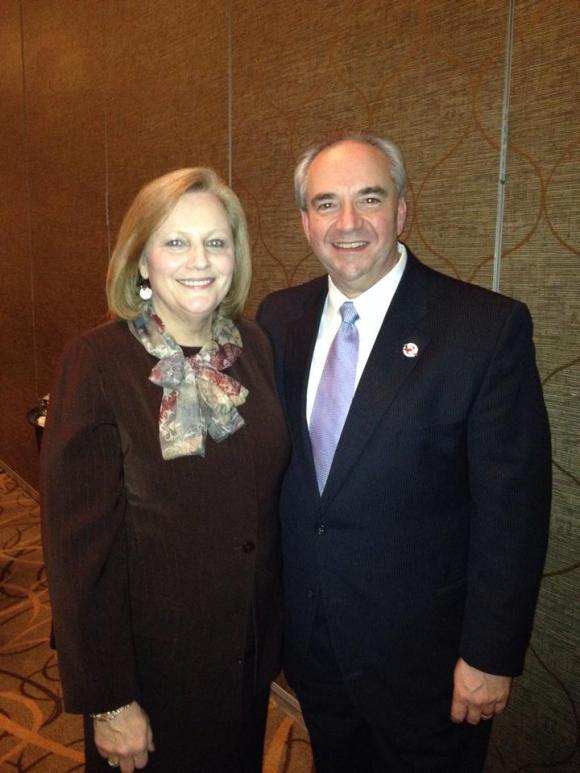 Bill Bolling, Jean Ann 2014 Lt. Gov dinner