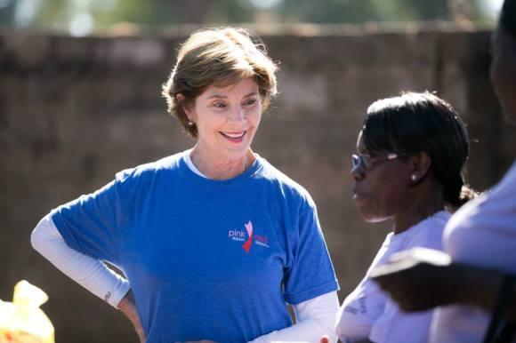 George W. Bush 29 Africa Laura