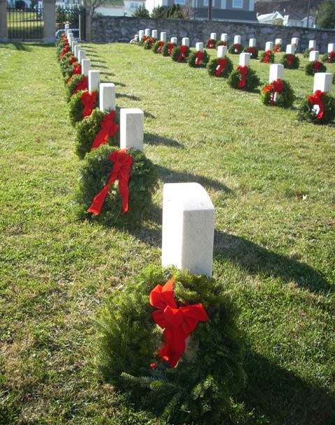 Wreaths arrive for remembrance day at Washington Crossing National Cemetery