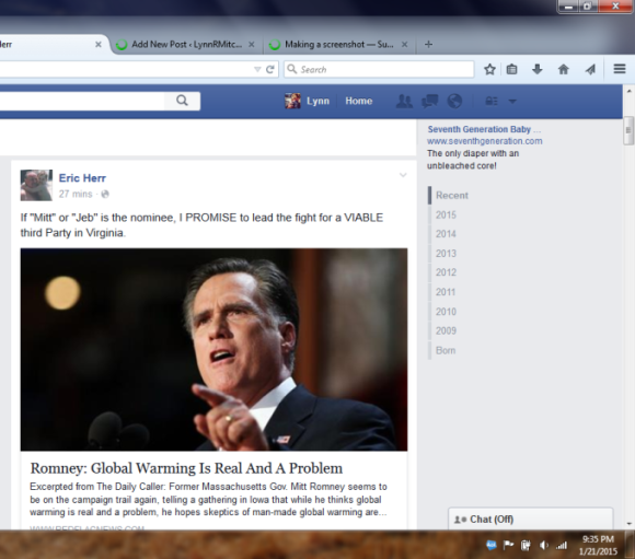 Eric Herr FB screen shot 2