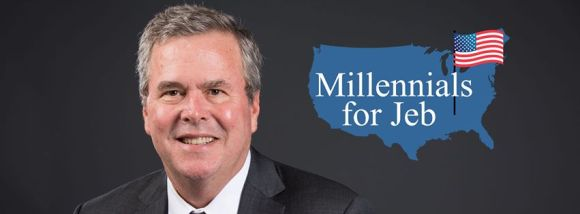 Millennials for Jeb logo