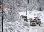 Virginia Dominion Power snowstorm outages