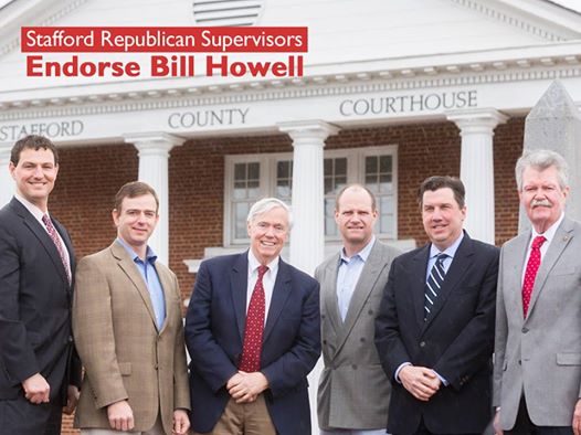 Bill Howell endorse by sups