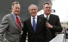 Jeb Bush 20 George W, George HW
