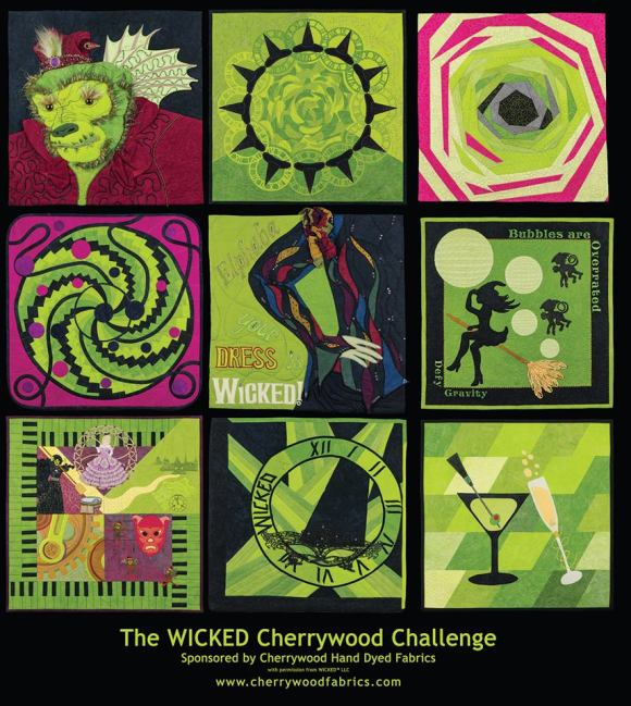 Vickie's Wicked quilt