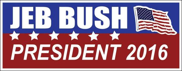 Jeb Bush bumper sticker