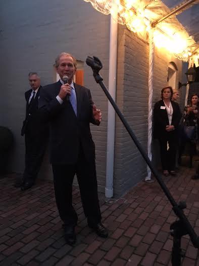 George W. Bush 55 10-2015 jeb fundraiser