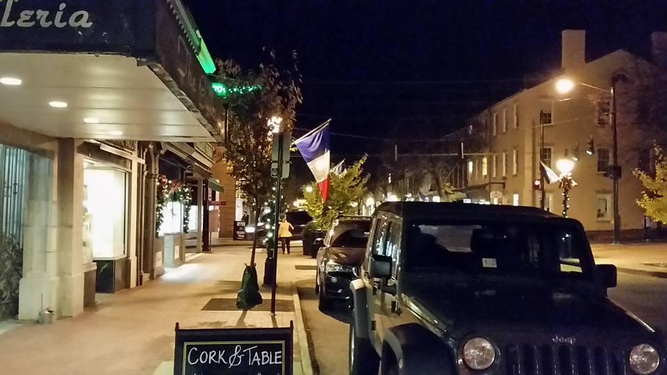 Fredericksburg French flags 1