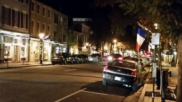 Fredericksburg French flags 2