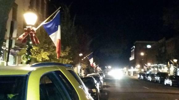 Fredericksburg French flags 3