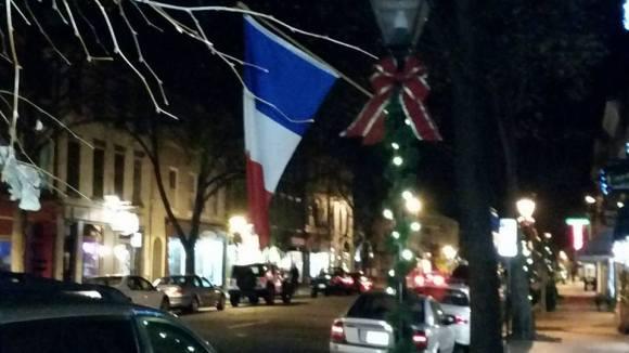 Fredericksburg French flags 4 Garrett Watson