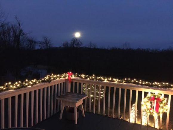 Christmas 30 full moon