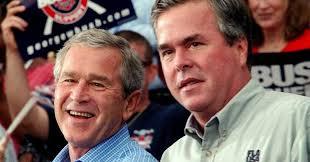 Jeb Bush 37 w W