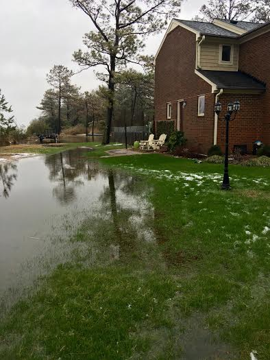 Snow flooding Melanie 4