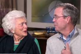 Jeb Bush 45 Barbara
